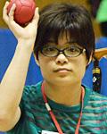 矢木香織選手(オープン車いすクラス)