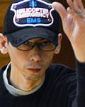 石田健二選手(オープン立位クラス)