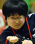 江崎駿選手(BC4クラス)