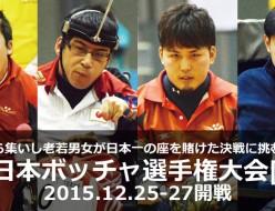 第17回日本ボッチャ選手権大会
