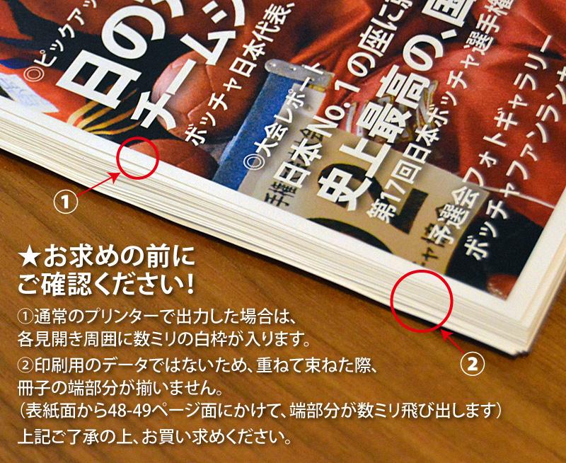 ボッチャファンEブック プリント・製本用