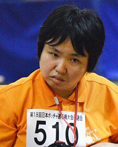 オープン座位クラス 古谷野陽子選手