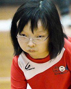 オープン立位クラス 金井莉麻選手