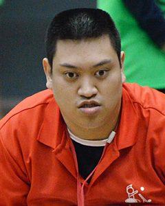オープン座位クラス 鈴木光選手