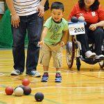 ボッチャやろうよ【1】子供も、大人も、お年寄も、障害のある人も、ない人も!