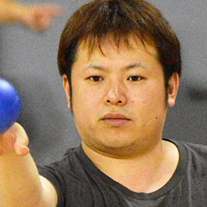 内藤紀和 選手(オープン座位クラス)