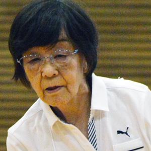 堀江美津子 選手(オープン立位クラス)