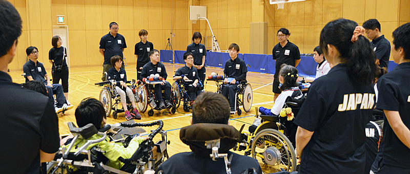 BISFed 2018 WORLD BOCCIA CHAMPIONSHIPS 火ノ玉JAPAN