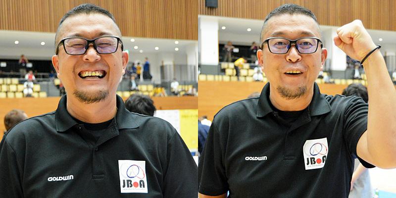 BISFed 2018 WORLD BOCCIA CHAMPIONSHIPS 火ノ玉JAPAN 河合俊次日本代表監督
