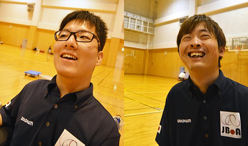 BISFed 2018 WORLD BOCCIA CHAMPIONSHIPS 火ノ玉JAPAN BC1 中村拓海 BC2 杉村英孝