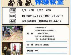ボッチャ体験教室(平成30年度都立学校活用促進モデル事業)