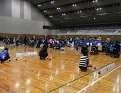 第20回日本ボッチャ選手権大会本大会 公式練習